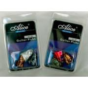 Blister de 3 ONGLETS ALICE doigt celluloid guitare (5640)