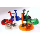 guitar stand K&M set of 6 colored pieces (17530)