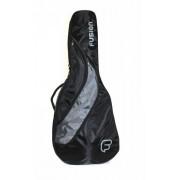 Housse guitare classique FUSION noir/gris (F412-C)