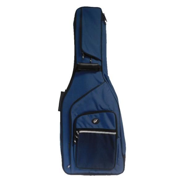 Housse guitare classique haut de gamme 39 s 39 bleu petrol for Housse guitare classique