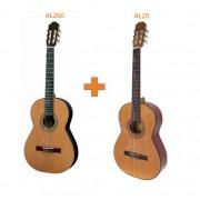 LOT guitares classique ALVARO (LOT-AL260+AL20) ***PRIX NET***