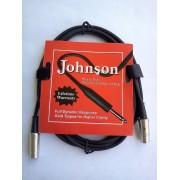Cable micro pro prise M/F XLR Johnson (590)