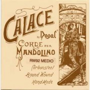Mi acier inoxydable (2 cordes) mandoline Calace DOGAL (HR1361)
