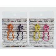 Trombone violon coloris violet, jaune, rose et orange par 12 (TROMBONE-VIOLON)