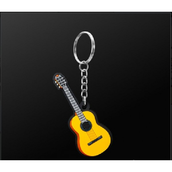 porte clefs guitare acoustique mdkc29 prix net. Black Bedroom Furniture Sets. Home Design Ideas