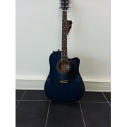 Guitare électro accoustique JOHNSON (650TBL)
