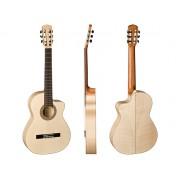 """Guitare classique 4/4 ARAGON série """"Traditional Art"""" Ligne Pro Tierra (AT-PT250AECE) ***PRIX NET***"""